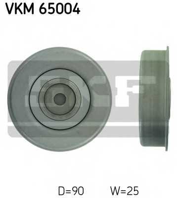 Натяжной ролик поликлиновогоременя SKF VKM 65004 - изображение