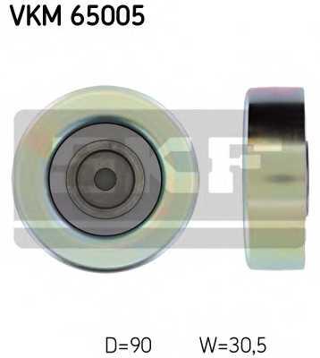 Паразитный / ведущий ролик поликлинового ременя SKF VKM 65005 - изображение