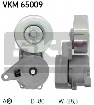 Натяжной ролик поликлиновогоременя SKF VKM 65009 - изображение