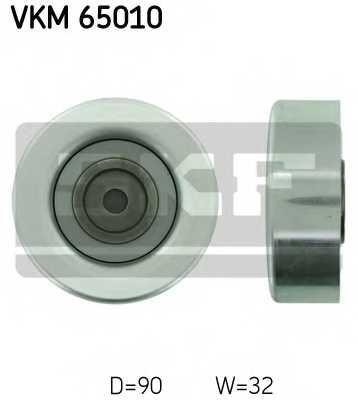 Паразитный / ведущий ролик поликлинового ременя SKF VKM 65010 - изображение