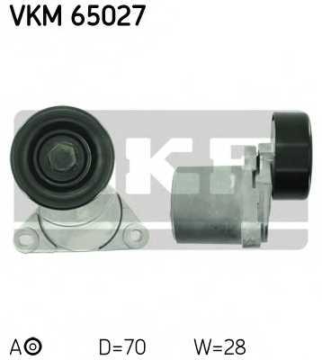 Натяжной ролик поликлиновогоременя SKF VKM 65027 - изображение