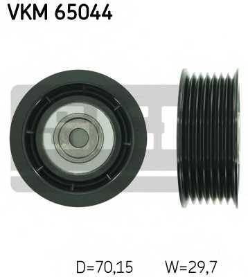 Паразитный / ведущий ролик поликлинового ременя SKF VKM 65044 - изображение