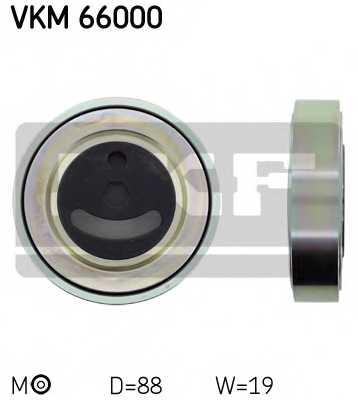 Натяжной ролик поликлиновогоременя SKF VKM 66000 - изображение
