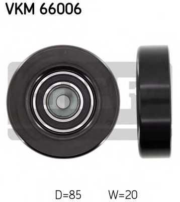 Паразитный / ведущий ролик поликлинового ременя SKF VKM 66006 - изображение