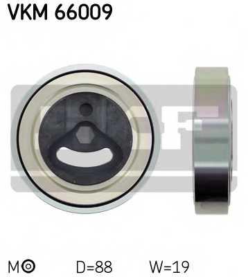 Натяжной ролик поликлиновогоременя SKF VKM66009 - изображение