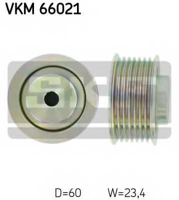 Паразитный / ведущий ролик поликлинового ременя SKF VKM 66021 - изображение