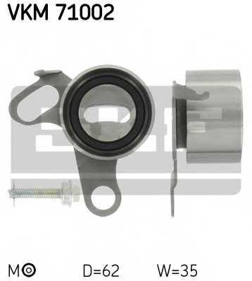 Натяжной ролик ременя ГРМ SKF VKM 71002 - изображение