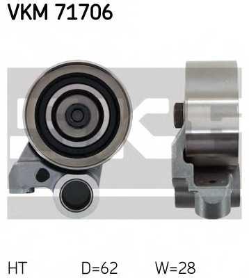 Натяжной ролик ременя ГРМ SKF VKM 71706 - изображение