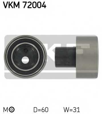 Натяжной ролик ременя ГРМ SKF VKM 72004 - изображение