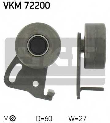 Натяжной ролик ременя ГРМ SKF VKM 72200 - изображение