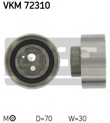 Натяжной ролик ременя ГРМ SKF VKM 72310 - изображение