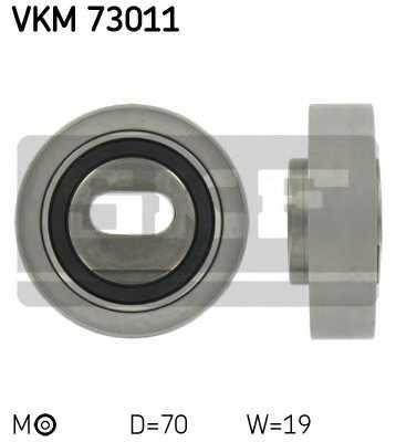 Натяжной ролик ременя ГРМ SKF VKM 73011 - изображение