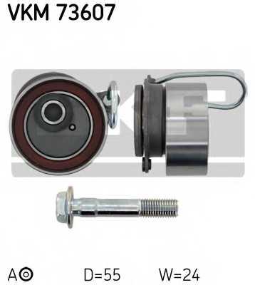 Натяжной ролик ременя ГРМ SKF VKM 73607 - изображение