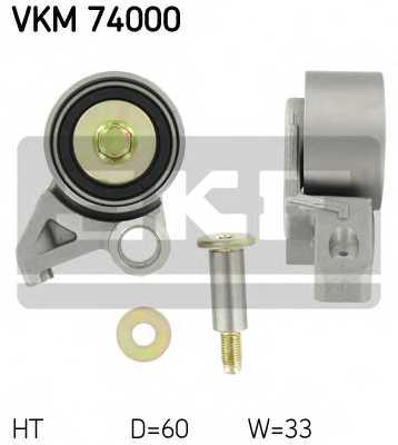 Натяжной ролик ременя ГРМ SKF VKM 74000 - изображение