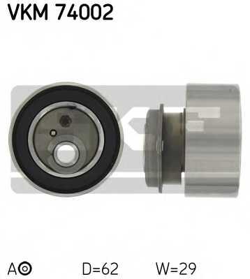Натяжной ролик ременя ГРМ SKF VKM 74002 - изображение