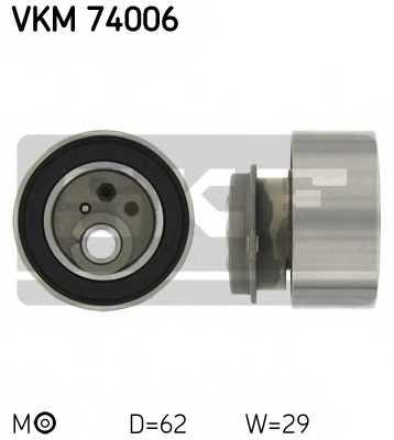 Натяжной ролик ременя ГРМ SKF VKM 74006 - изображение