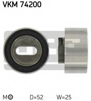 Натяжной ролик ременя ГРМ SKF VKM 74200 - изображение