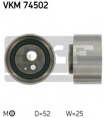 Натяжной ролик ременя ГРМ SKF VKM 74502 - изображение