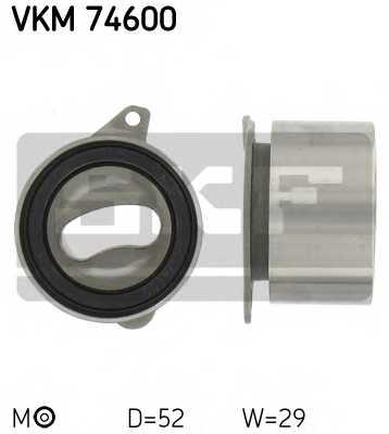 Натяжной ролик ременя ГРМ SKF VKM 74600 - изображение