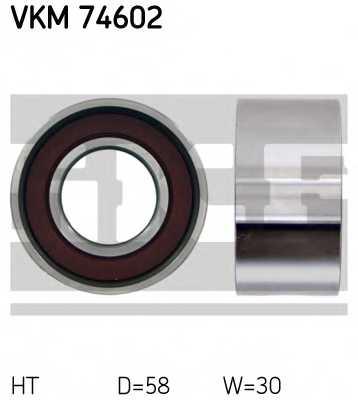 Натяжной ролик ременя ГРМ SKF VKM 74602 - изображение