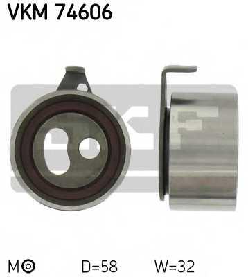Натяжной ролик ременя ГРМ SKF VKM 74606 - изображение