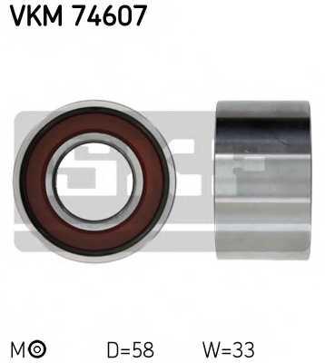 Натяжной ролик ременя ГРМ SKF VKM 74607 - изображение