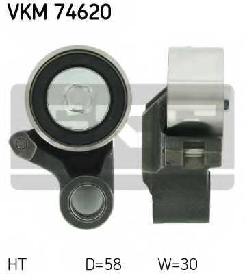 Натяжной ролик ременя ГРМ SKF VKM 74620 - изображение