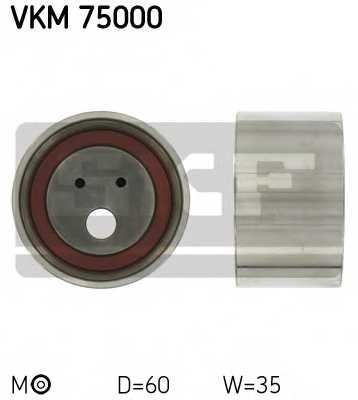 Натяжной ролик ременя ГРМ SKF VKM 75000 - изображение