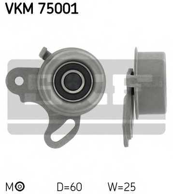 Натяжной ролик ременя ГРМ SKF VKM 75001 - изображение