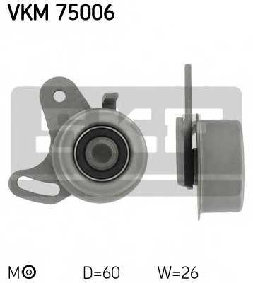 Натяжной ролик ременя ГРМ SKF VKM75006 - изображение