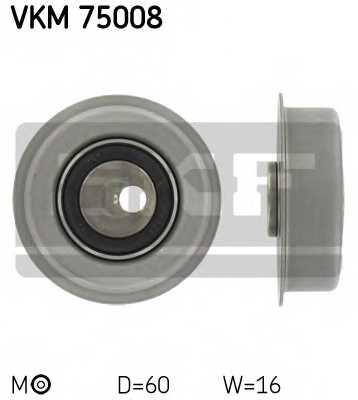 Натяжной ролик ременя ГРМ SKF VKM 75008 - изображение