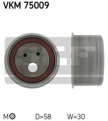 Натяжной ролик ременя ГРМ SKF VKM 75009 - изображение