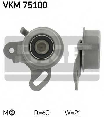 Натяжной ролик ременя ГРМ SKF VKM 75100 - изображение