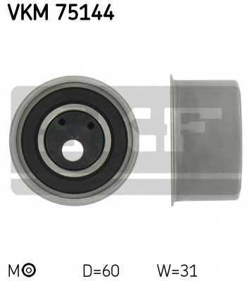 Натяжной ролик ременя ГРМ SKF VKM 75144 - изображение
