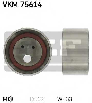 Натяжной ролик ременя ГРМ SKF VKM 75614 - изображение