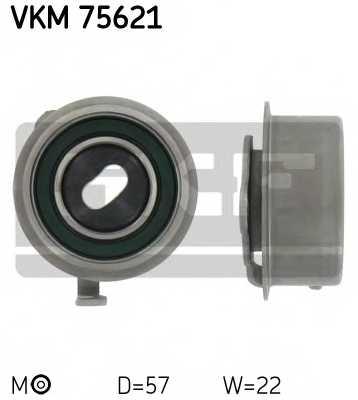Натяжной ролик ременя ГРМ SKF VKM 75621 - изображение