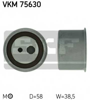 Натяжной ролик ременя ГРМ SKF VKM 75630 - изображение