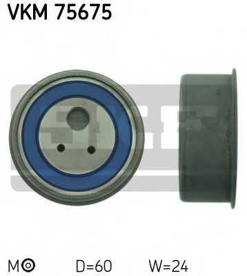 Натяжной ролик ременя ГРМ SKF VKM 75675 - изображение