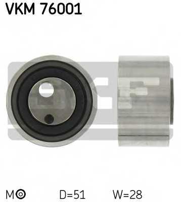 Натяжной ролик ременя ГРМ SKF VKM 76001 - изображение