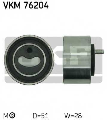 Натяжной ролик ременя ГРМ SKF VKM 76204 - изображение