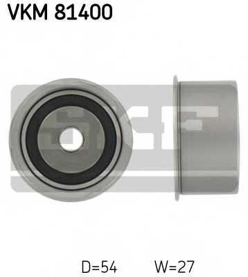 Паразитный / ведущий ролик зубчатого ремня SKF VKM81400 - изображение