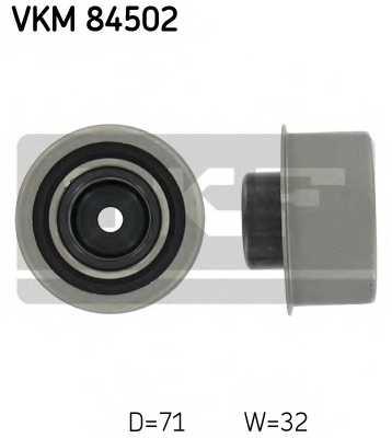 Паразитный / ведущий ролик зубчатого ремня SKF VKM 84502 - изображение