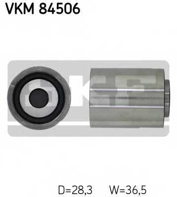 Паразитный / ведущий ролик зубчатого ремня SKF VKM84506 - изображение