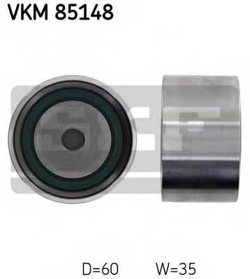 Паразитный / ведущий ролик зубчатого ремня SKF VKM85148 - изображение