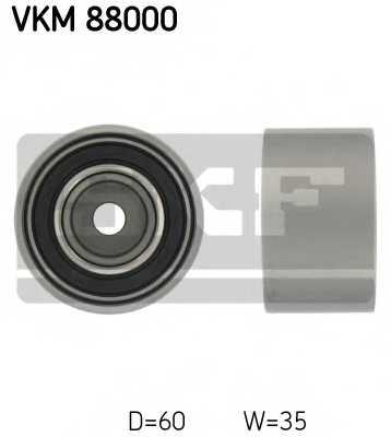 Паразитный / ведущий ролик зубчатого ремня SKF VKM 88000 - изображение