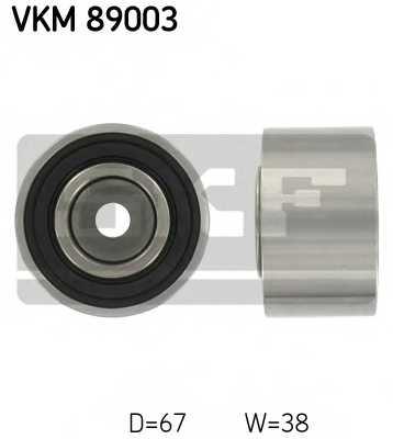 Паразитный / ведущий ролик зубчатого ремня SKF VKM89003 - изображение