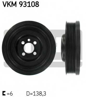 Ременный шкив коленвала SKF VKM 93108 - изображение