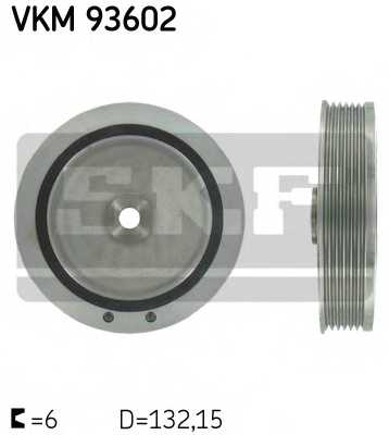 Ременный шкив коленвала SKF VKM 93602 - изображение