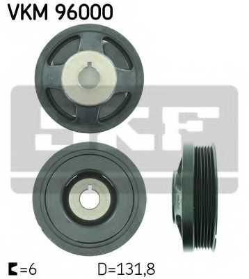 Ременный шкив коленвала SKF VKM 96000 - изображение