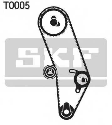 Комплект ремня ГРМ SKF VKMA 01000 - изображение